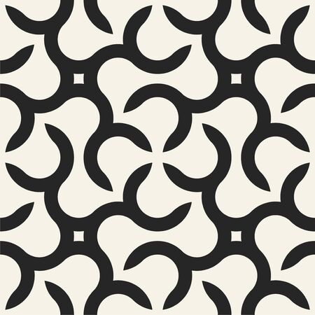 Vector seamless geometric pattern - modern stylish texture with creative shapes. Simple graphic design Ilustrace