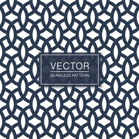 Vector seamless geometric pattern - blue and white repeatable texture. Oriental design. Minimalistic endless background
