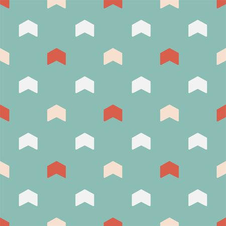 Vector seamless colorful pattern - childish arrow design. Christmas decorative bright background - retro style. Endless creative cute texture for wrapping papers, covers, wallpapers and ect