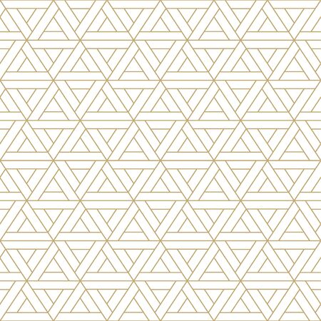 Abstract seamless ornamental pattern - geometric design. Vector minimalistic luxury background 向量圖像