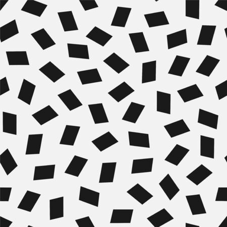 Vector seamless simple pattern. Modern stylish texture with randomly disposed rhombus. Repeating abstract minimalistic background. Trendy hipster print. 向量圖像
