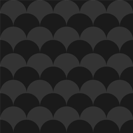 Stylish seamless dark pattern. Black and grey geometric texture. Abstract minimalistic background. 向量圖像
