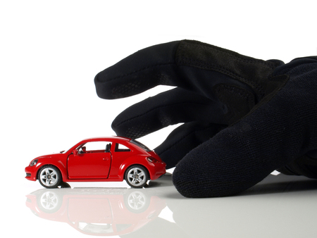 Car Thief - icon Stockfoto