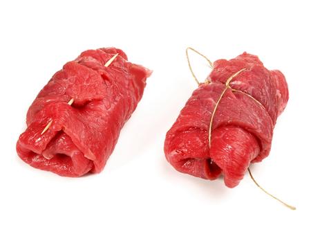 Making Meat Rolls