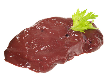 Raw Veal Liver