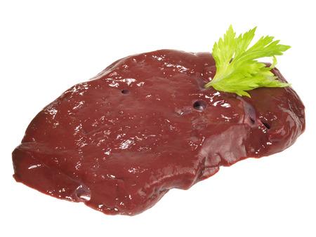 Raw Veal Liver 免版税图像 - 121796294