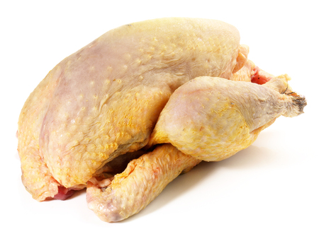 Raw Guinea Fowl Stockfoto