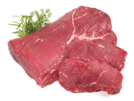 Raw Striploin Beef Steak