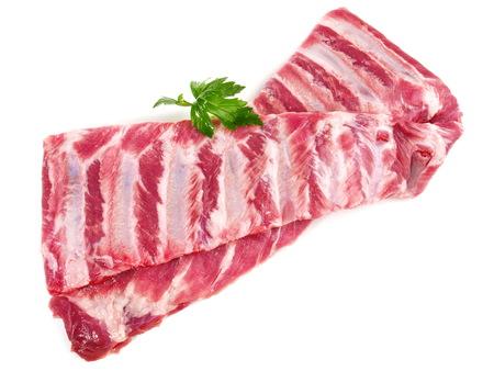 Raw Pork Spareribs