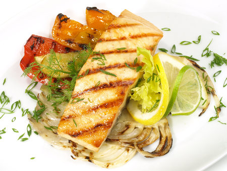 Grilled Salmon - Fish Fillet