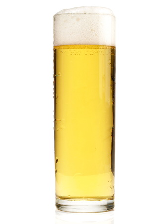 Koelsch Beer on white Background