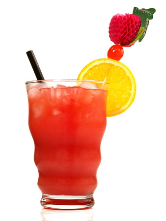 Zombie Cocktail on white Background