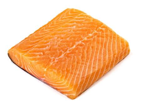 Salmon - Fish Fillet on white background