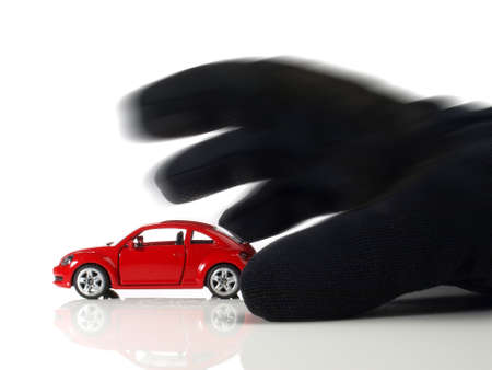 Car Thief Icon Isolated