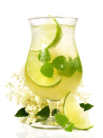 Hugo Cocktail isolated on white background 版權商用圖片 - 167866818