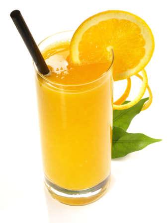 Orange juice isolated on white background 版權商用圖片 - 168232560