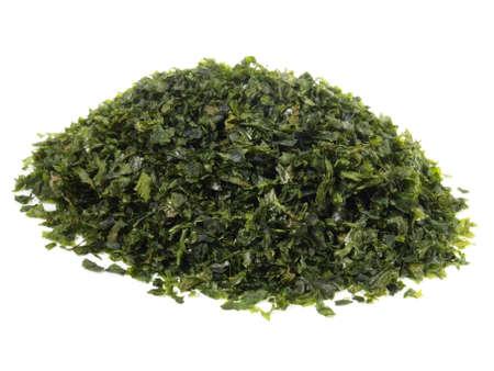 Nori Seaweed Isolated on White Background