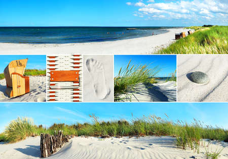 Baltic Sea collage 版權商用圖片