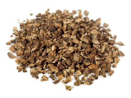 Rampion Tea isolated on white Standard-Bild