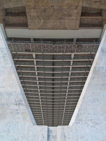 samutprakarn: Prop of Bhumibol Bridge also casually call as Industrial Ring Road Bridge, Samut Prakarn,Thailand