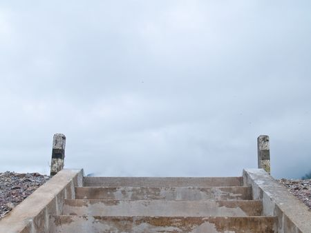 Steps to heaven in the highest point photo