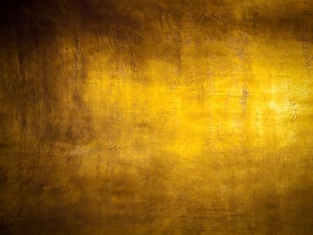 金: アンティーク ゴールデン グランジ背景ハイライト テクスチャと