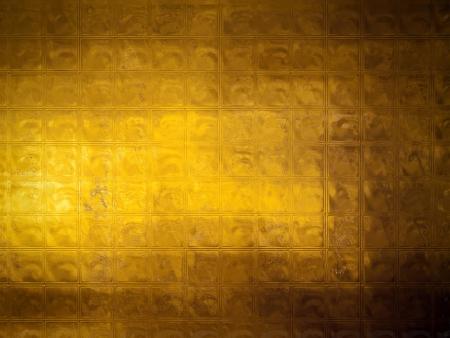 luxe: R�sum� de mosa�que dor�e avec une texture grunge souligner Banque d'images