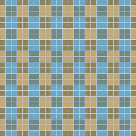 Abstract colorful square block mosaic, seamless background photo