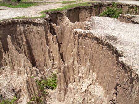 arise: Strange land arise from ground subsidence