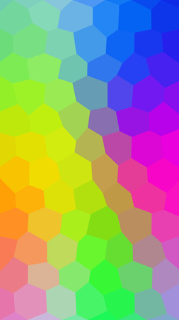 Abstract low polygon colorful background for cell phone Çizim