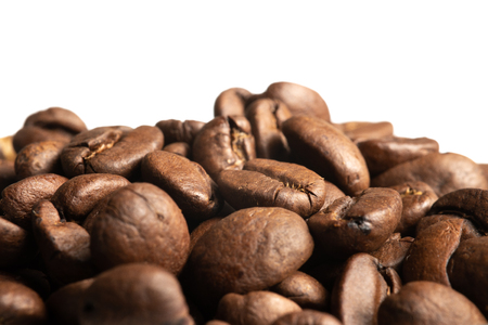 Coffee beans macro Stok Fotoğraf