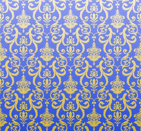 bez szwu tła niebieski wektora tapety Ilustracja