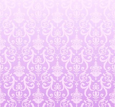 seamless background pink vector wallpaper Stock Vector - 5385181