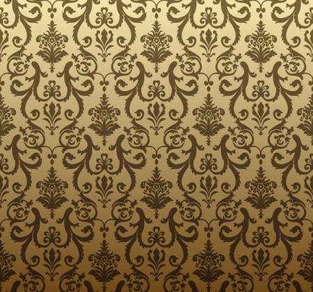 Tapeta brązowy wektorowych bez szwu tła Ilustracja