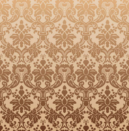 Imperial seamless wallpaper. Vector illustration Vector