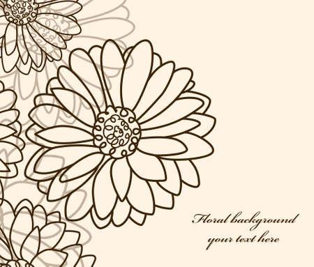 tło kwiatu Rumianek. Tapeta