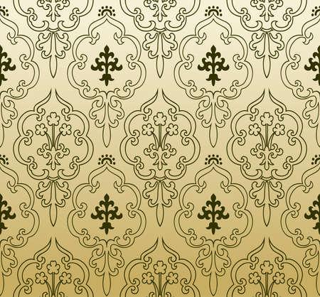 Seamless wallpaper gothic vintage - background