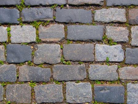 stone blocks road Stock Photo - 7998737