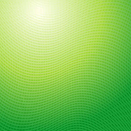 yellow vector: Vector design pattern. Green yellow waves abstract light background