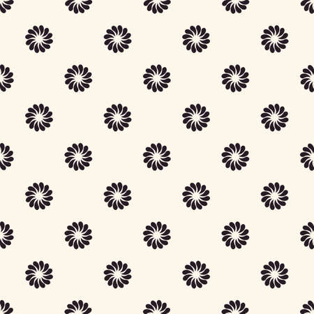 seamless pattern floral: Vector seamless pattern. Floral vintage backgrounds isolated