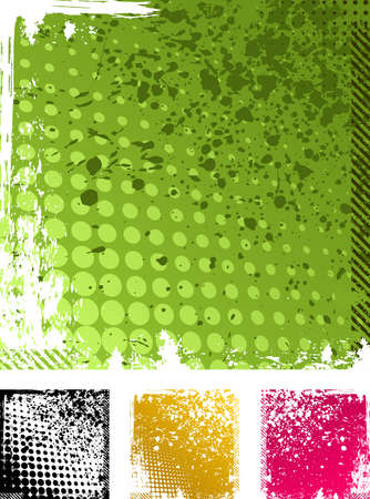 artistic texture: vector grunge backgrounds texture Illustration