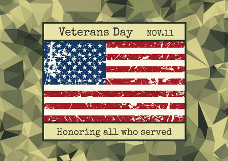 broshure: brochure poster templates in veterans day style. Camouflage design and layout