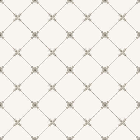 rhombus: seamless tile pattern. Modern stylish texture. Geometric with dotted rhombus in vintage floral style