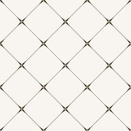 naadloze tegel patroon. Moderne stijlvolle textuur. Geometrische met gestippelde ruit in vintage stijl