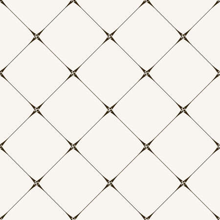 seamless tile pattern. Modern stylish texture. Geometric with dotted rhombus in vintage floral style