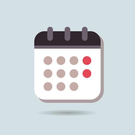 カレンダー - カレンダーのアイコンのベクトル - カレンダー アイコン画像 - カレンダーのアイコンのグラフィック - カレンダー アイコン JPG - カレ  イラスト・ベクター素材