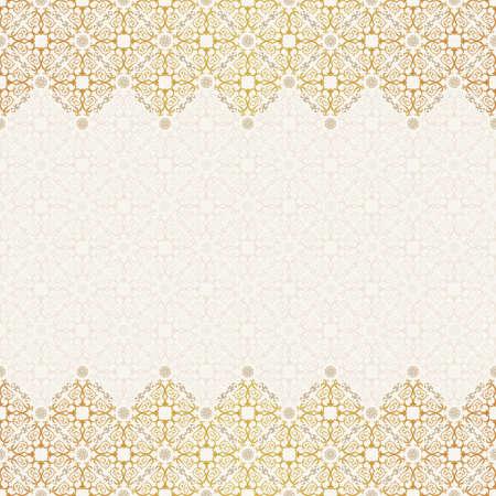 decoratif: Vector seamless pattern avec l'ornement de l'art. Vintage éléments de conception dans un style victorien. Ornement fond dentelle entrelacs. Décoration florale Ornement pour le papier peint. Sans fin texture