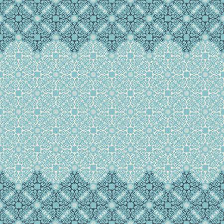 Vector islam patroon grens. Naadloos patroon Arabische ornament. Vintage design oosterse elementen in Victoriaanse stijl. Sier kant luxe achtergrond. Sierlijke bloemen decor behang. naadloze textuur