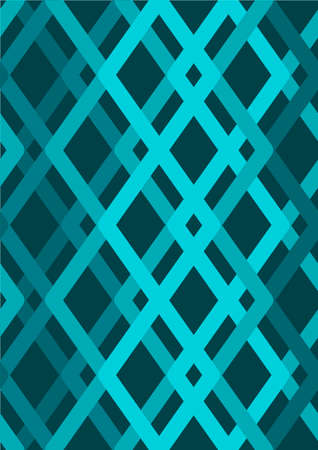 tiles texture: Vector seamless pattern. Blue Modern stylish texture. Repeating geometric tiles with smooth rhombuses Illustration