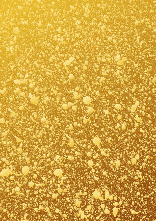patina: Gold glitter background. Abstract vector pattern. Shiny packaging. Gold patina. Shiny gold background